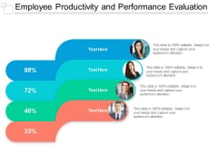 Employee Productivity And Performance Evaluation Ppt PowerPoint Presentation Professional Graphics