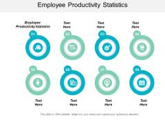 Employee Productivity Statistics Ppt PowerPoint Presentation Slide Cpb