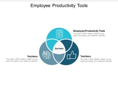 Employee Productivity Tools Ppt PowerPoint Presentation Ideas Picture Cpb