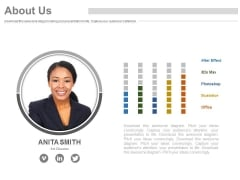 Employee Profile For About Us Slide Powerpoint Slides