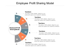 Employee Profit Sharing Model Ppt PowerPoint Presentation Show Influencers Cpb
