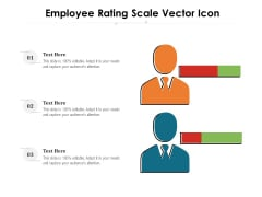 Employee Rating Scale Vector Icon Ppt PowerPoint Presentation Diagram Templates PDF