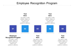 Employee Recognition Program Ppt PowerPoint Presentation Inspiration File Formats Cpb