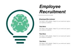 Employee Recruitment Ppt PowerPoint Presentation Infographics Vector Cpb