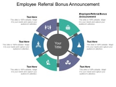Employee Referral Bonus Announcement Ppt PowerPoint Presentation Infographics Layout