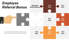 Employee Referral Bonus Ppt PowerPoint Presentation Show Guide Cpb