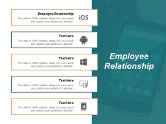 Employee Relationship Ppt PowerPoint Presentation Gallery Show Cpb