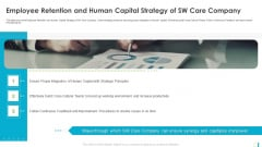 Employee Retention And Human Capital Strategy Of SW Care Company Background PDF
