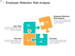 Employee Retention Risk Analysis Ppt PowerPoint Presentation Show Cpb