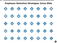 Employee Retention Strategies Icons Slide Checklist Ppt PowerPoint Presentation Summary Background Images