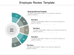 Employee Review Template Ppt PowerPoint Presentation Pictures Styles Cpb