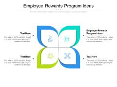 Employee Rewards Program Ideas Ppt PowerPoint Presentation Model Layouts Cpb