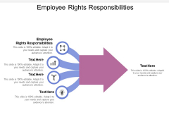 Employee Rights Responsibilities Ppt PowerPoint Presentation Infographic Template Portfolio Cpb
