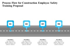 Employee Safety Health Training Program Process Flow For Construction Employee Safety Proposal Designs PDF