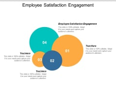 Employee Satisfaction Engagement Ppt PowerPoint Presentation Icon Example Topics Cpb