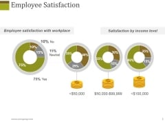 Employee Satisfaction Ppt PowerPoint Presentation Layouts Portfolio