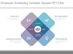 Employee Scheduling Template Sample Ppt Files