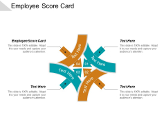 Employee Score Card Ppt PowerPoint Presentation Styles Design Templates Cpb