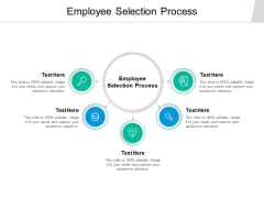 Employee Selection Process Ppt PowerPoint Presentation Professional Diagrams Cpb