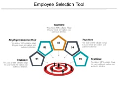 Employee Selection Tool Ppt PowerPoint Presentation Portfolio Brochure Cpb