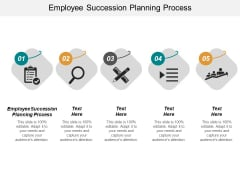Employee Succession Planning Process Ppt PowerPoint Presentation Model Layout Ideas Cpb