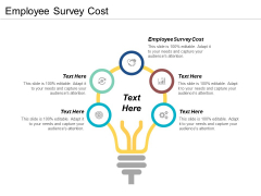 Employee Survey Cost Ppt PowerPoint Presentation Gallery Designs Download Cpb