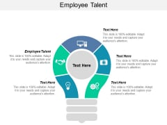 Employee Talent Ppt PowerPoint Presentation Summary Model