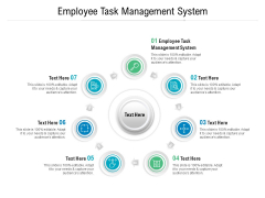 Employee Task Management System Ppt PowerPoint Presentation Inspiration Graphics Template Cpb