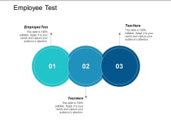Employee Test Ppt PowerPoint Presentation Layouts Graphics Tutorials Cpb