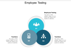 Employee Testing Ppt Powerpoint Presentation Summary Outfit Cpb