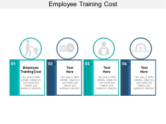 Employee Training Cost Ppt PowerPoint Presentation Styles Templates Cpb
