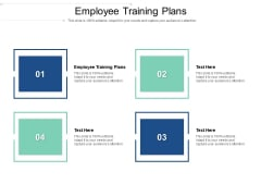 Employee Training Plans Ppt PowerPoint Presentation Outline Background Cpb Pdf