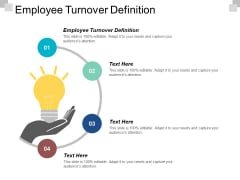 Employee Turnover Definition Ppt PowerPoint Presentation Gallery Portfolio