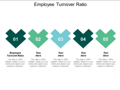 Employee Turnover Ratio Ppt PowerPoint Presentation Show Rules Cpb
