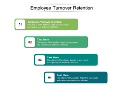 Employee Turnover Retention Ppt PowerPoint Presentation Outline Outfit Cpb Pdf