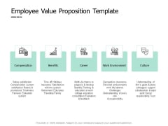 Employee Value Proposition Culture Ppt PowerPoint Presentation Gallery Inspiration