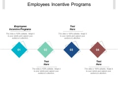 Employees Incentive Programs Ppt Powerpoint Presentation Gallery Background Image Cpb