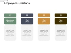 Employees Relations Ppt PowerPoint Presentation Pictures Format Ideas