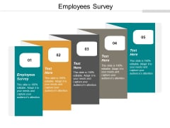 Employees Survey Ppt PowerPoint Presentation Ideas Example File Cpb