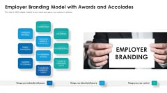 Employer Branding Model With Awards And Accolades Ppt Layouts Design Templates PDF