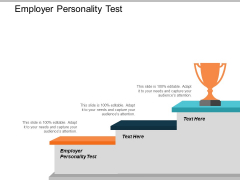 Employer Personality Test Ppt PowerPoint Presentation Information Cpb