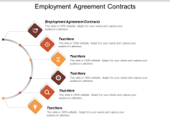 Employment Agreement Contracts Ppt PowerPoint Presentation Infographic Template Mockup Cpb