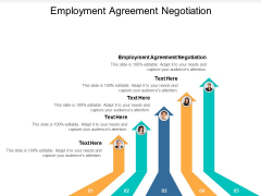 Employment Agreement Negotiation Ppt PowerPoint Presentation Inspiration Visuals Cpb