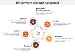 Employment Contract Agreement Ppt PowerPoint Presentation Ideas Files Cpb