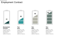 Employment Contract Ppt Powerpoint Presentation Styles Elements Cpb