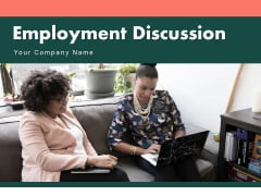 Employment Discussion Circular Employee Communication Ppt PowerPoint Presentation Complete Deck