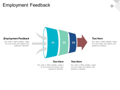 Employment Feedback Ppt PowerPoint Presentation Professional Portfolio