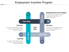 Employment Incentive Program Ppt PowerPoint Presentation Styles Design Ideas Cpb