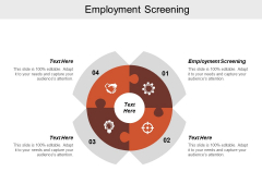 Employment Screening Ppt Powerpoint Presentation Model Designs Download Cpb