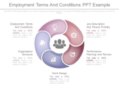 Employment Terms And Conditions Ppt Example